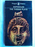 SOPHOCLES.KING OEDIPUS-OEDIPUS AT COLONUS-ANTIGONE.THE THEBAN PLAYS.S/B 1970