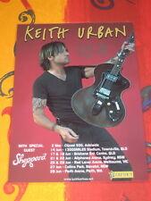 KEITH URBAN - 2014  LIGHT THE FUSE  AUSTRALIAN  TOUR  -  PROMO TOUR POSTER