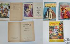 1422/ 3 LIVRES : 2 ALEXANDRE DUMAS LA JEUNESSE DE MONTE-CRISTO 1954 LA TULIPE NO