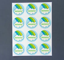 TREND Stinky Stickers RAINBOW Scratch-N-Sniff Vintage Matte Sheet - No TM
