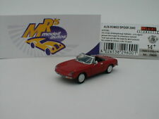"Brekina 29600 # ALFA Romeo Spider Fastback Bj. 1969 in "" alfarot "" 1:87 NEU !!"