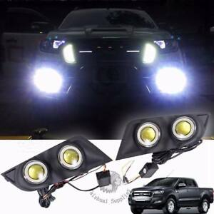 100W OEM LED Front Fog LightsCompatible With Ford Ranger 2011-2016