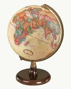 Replogle Quincy Desktop Globe, Antique