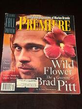 PREMIERE magazine 1994, Brad Pitt, Johnny Depp, Marlon Brando, Terence Stamp