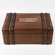 Antique Boissier French Chocolates Presentation Box, Master Chocolatier, Plaque