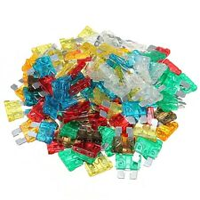 120X FUSIBLES HOJA CUCHILLA COCHE ENCHUFABLE 5 10 15 20 25 30 AMP BLADE FUSE