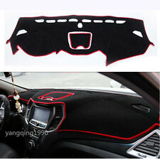 For 2016 2017 HYUNDAI SANTA FE SPORT IX45 Dashboard Dash Mat Sun Cover Pad Red