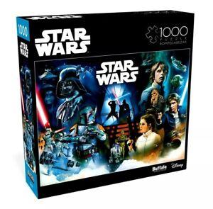 Star Wars 1000 Piece Jigsaw Puzzle Buffalo Games NEW 26 in x 19 in - Pinball Art