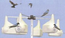 1-PURPLE MARTIN GOURD RACK + 15 FT POLE+ 6  GOURDS  NEW/ SALE
