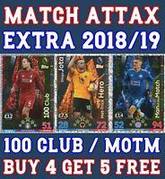 Match Attax 19//20 Limited Edition//100 club//MVP//motm//CENTURION Achetez 3 Obtenez 1 Gratuit