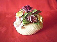 Adderley Floral.. Bone China Flower Basket