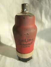 f2 alte Sammler Röhre für Röhrenradio PHILIPS Minniwatt ECH 4 Vorkrieg Wehrmacht