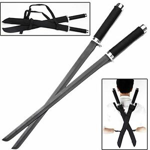 Ace Martial Arts Supply Ninja Assassin Strike Force Twin Swords Set New