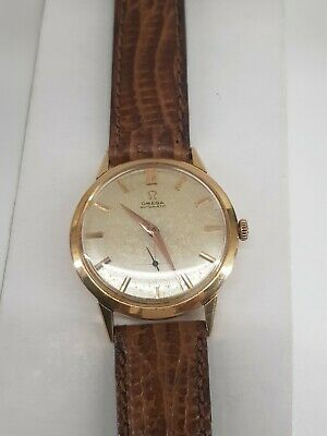 Reloj Omega Gold 18kilate automático Calibre 491 Funciona