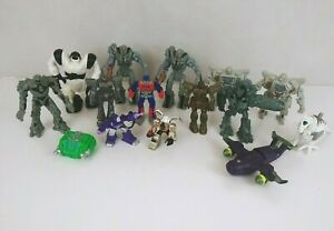 Lot of 15 Robot transformers toys