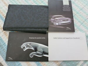 Jaguar X TYPE HAND BOOK PACK AND WALLET