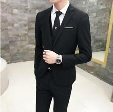 New Mens Stylish Business Wedding Dress Formal Coat Business Suits Jacket Pants