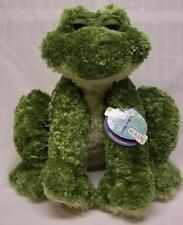 "First & Main FROGGLE WOGGLE THE FROG 11"" Plush STUFFED ANIMAL Toy NEW"
