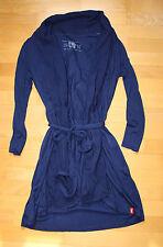 Esprit Edc Cardigan XS 34/36 NEU blau Jacke Weste Shirt Top mit Gürtel