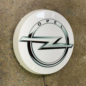 Opel LED Mural Lumière Signe Logo Garage Automobilia Diable Voiture Manta Corsa