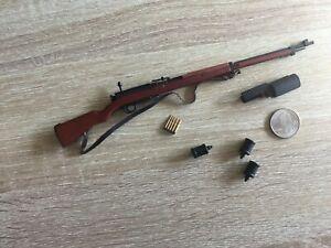 MINIATURE 1/6 SCALE METAL & WOOD JAPANESE SOLDIER ARISAKA RIFLE GUN DID WW2 WWII