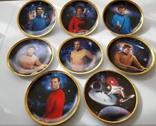 The Hamilton Collection Star Trek 25th Anniversary Collector 8 Plate Set