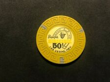 New listing .50 cent Binions Horseshoe Casino Chip 8th issue R-7