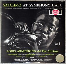 33t Louis Armstrong - Satchmo at Symphony Hall - Vol. 1 (LP)