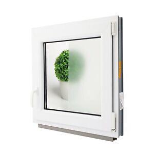 Finestre in PVC Aluplast con vetro OPACO per Bagno!! ad 1 anta grosse misure!