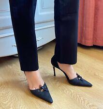 Vintage Gucci GG black monogram heels shoes