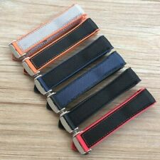 20 22 Silicon Rubber/Nylon Watch Band Strap For Omega Planet Ocean HIGH QUALITY!