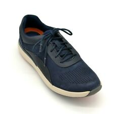 Unstructured By Clark Womens Lace Up Casual Trainer Sneaker US Size 11M Navy New