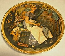 "Edwin M. Knowles Plate ""Rockwell's Rediscovered Women"" ""Dreaming in the Attic"""
