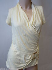 New Look Women's Stretch Short Sleeve Sleeve Hip Length Tops & Shirts
