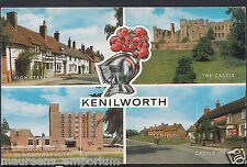Warwickshire Postcard - Views of Kenilworth    RT331