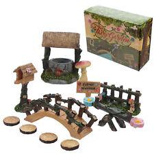 Magical Forêt Fées Bienvenue Miniature Fairy Jardin Kit de Démarrage Cadeau