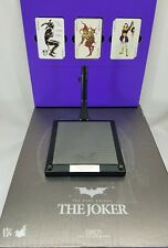 Genuine Hot Toys 1/6 DX01 Batman TDK Joker Heath Ledger LED Light up stand Base
