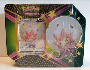 Pokemon Cottomi V Tin Box Glänzendes Schicksal Deutsch Neu OVP Shining Fates