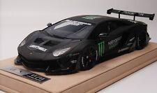 1/18 Lamborghini Aventador Liberty Walk LB Performance Monster Alcantara BBR MR