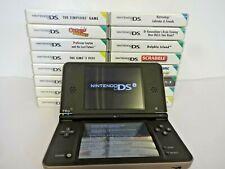 nintendo utl-001 dsi xl console with 16 games