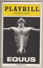 "Daniel Radcliffe & Kate Mulgrew ""Equus""  Playbill 2008   Richard Griffiths"