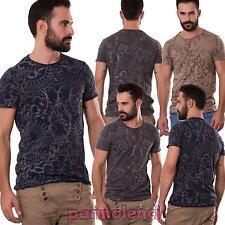 Maglietta uomo maglia t-shirt tapestry girocollo maniche corte nuova 4923
