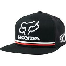 Fox NEW Men's Honda Snapback Cap - Black BNWT