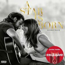 Lady Gaga Bradley Cooper A Star Is Born NEW Target Exclusive W/Poster