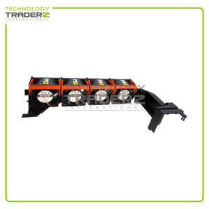 PR970 Dell PowerEdge 2950 Fan Case Assembly w/ 4x Fan (Part # 0PR272) **Pulled**
