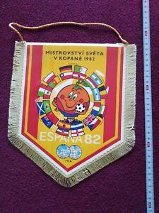 Old Football Pennant - WORLD CUP 1982 - ESPAŇA 82