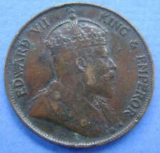 1902 Hong Kong - 1 cent  1902 - KM# 11