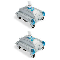 Intex Automatic Above Ground Pool Vacuum for Pumps 1,600-3,500 GPH (2 Pack)