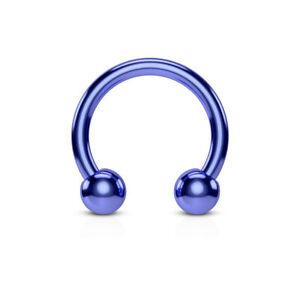 1- Horseshoe Circular Titanium Helix Tragus Piercings Nipple Eyebrow Septum C275