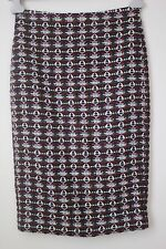 j crew COLLECTION cashmere wool mohair blend textured pencil skirt size 2